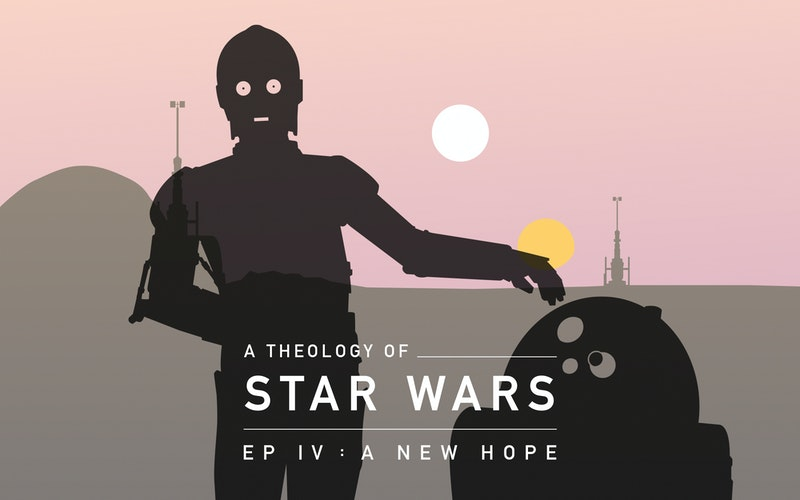 Star Wars Episode Iv The Scale Of Hope Think Christian