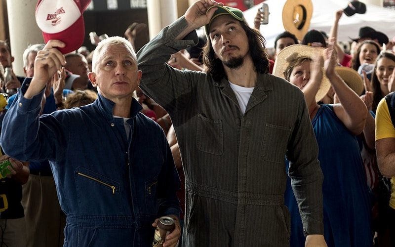 Logan Lucky Blessed Are The Luckless Think Christian